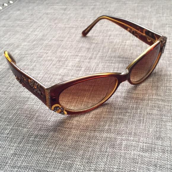 7e5214d5ec Jimmy Crystal Accessories - Jimmy Crystal and Swarovski GL889 Sunglasses